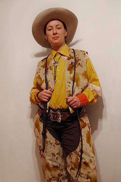 cowboy a cheval