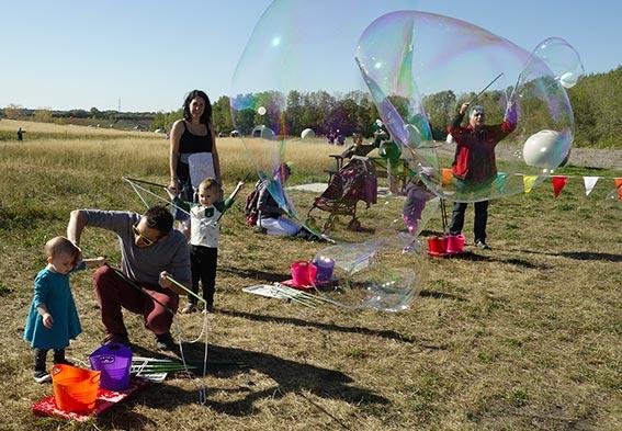 bulles qui se voient de loin