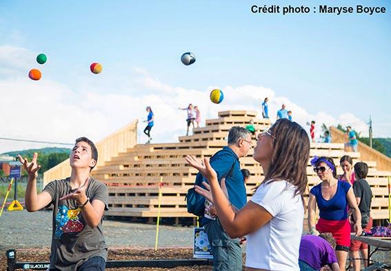 cours de jonglerie