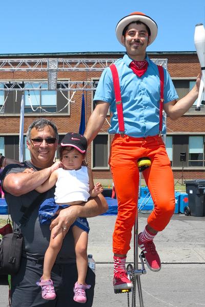 Summer circus festival