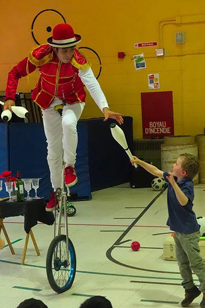 spectacle ecole enfants